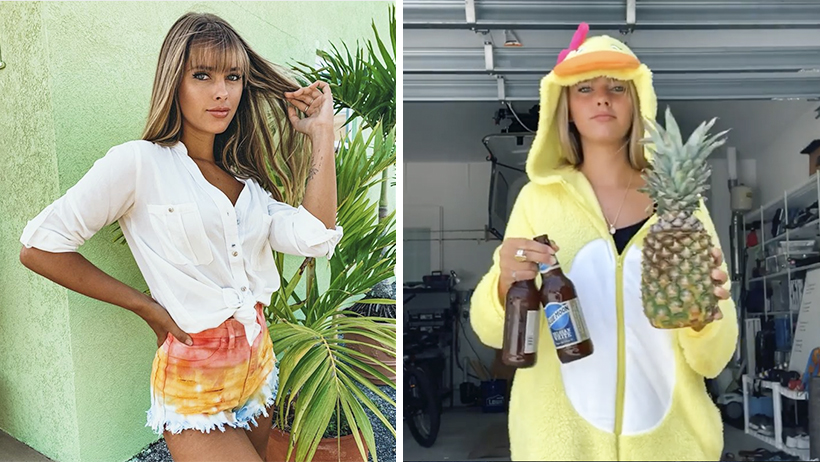 Cover Emily Zeck That Pineapple Girl Cerveza Trucos