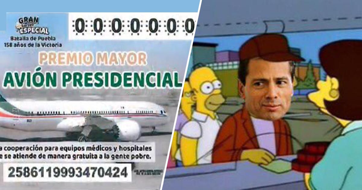 Cover Enrique Peña Nieto Avión Presidencial