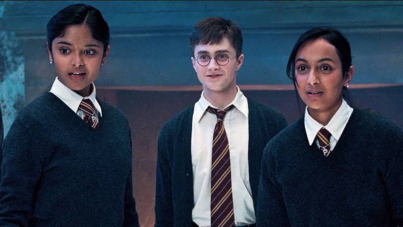 Cover Harry Potter Parvati and Padma Patil Afshan Azad Shefali Chowdhury