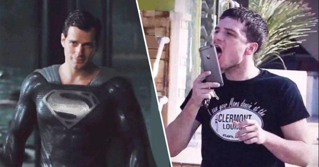 Cover Henry Cavill Superman Traje Negro Memes