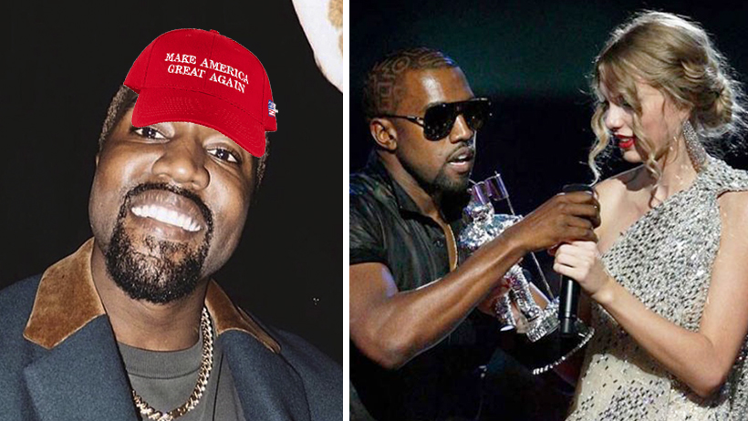 Cover Kanye West 2020 Presidente Taylor Swift