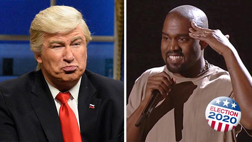 Cover Kanye West Traje Presidente EU 2020