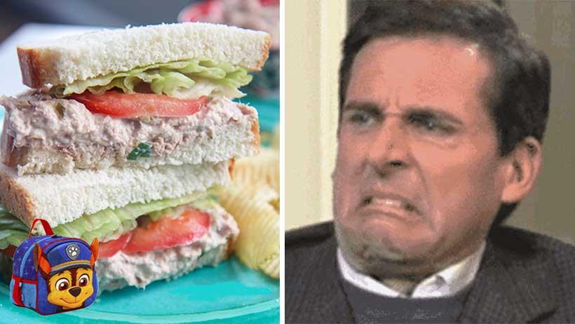 Cover Sandwich Atún Lunch Nueva Normalidad