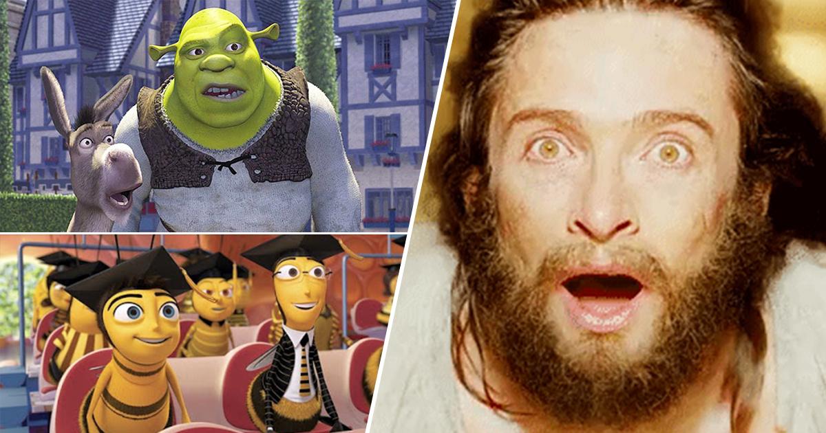 Cover Shrek Bee Movie Stickers WhatsApp