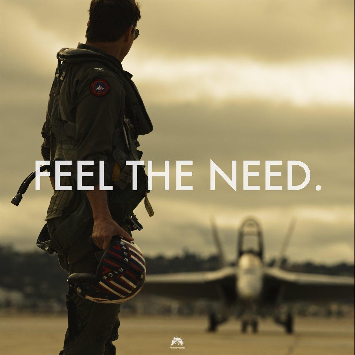 Top Gun Maverick Feel the Need // Hollywood nota