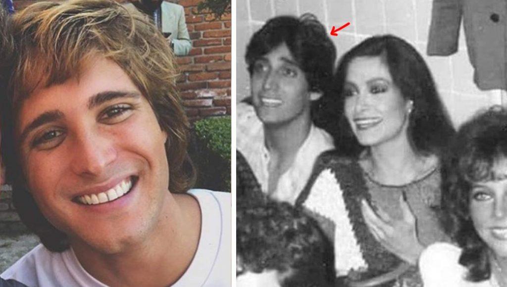 Descubren que Diego Boneta viajó en el tiempo para conocer a Daniela Romo de joven