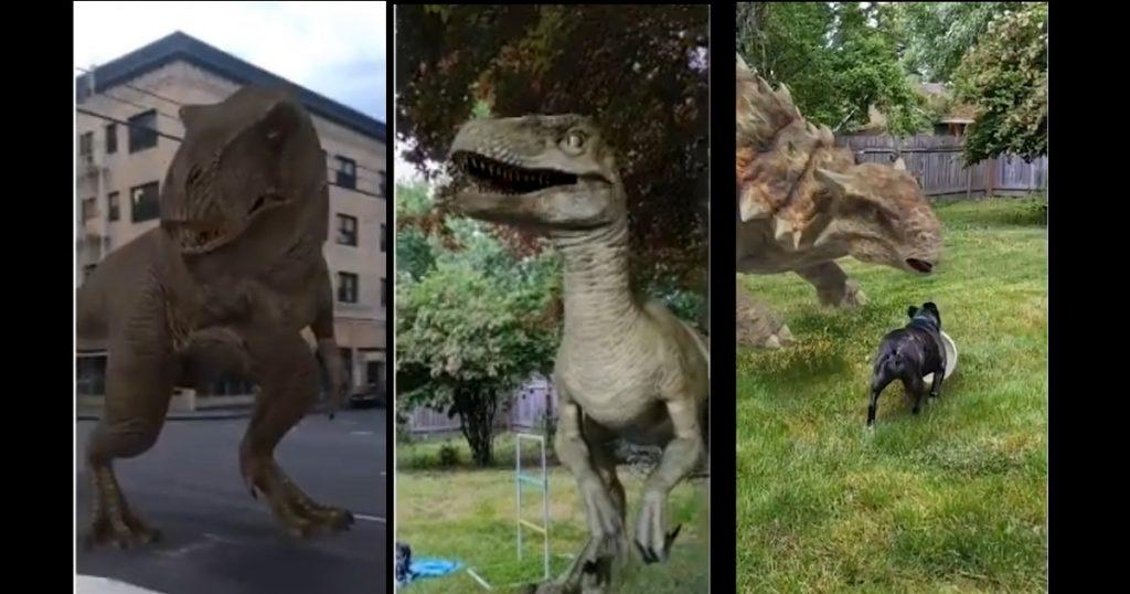 Google se pone Jurassic Park y lanza función de realidad aumentada para buscar dinosaurios
