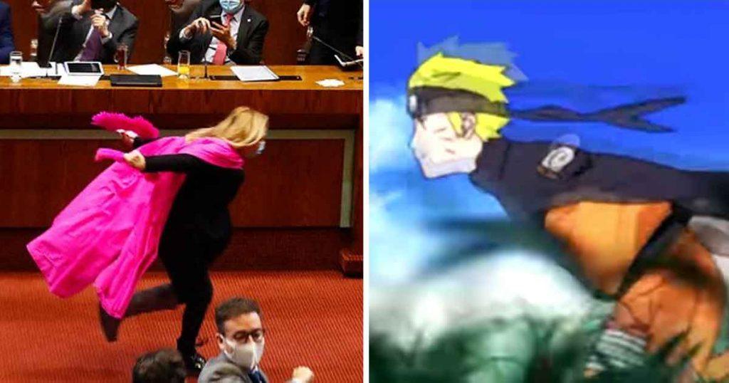 Una diputada festejó corriendo como Naruto y ya queremos votar por ella