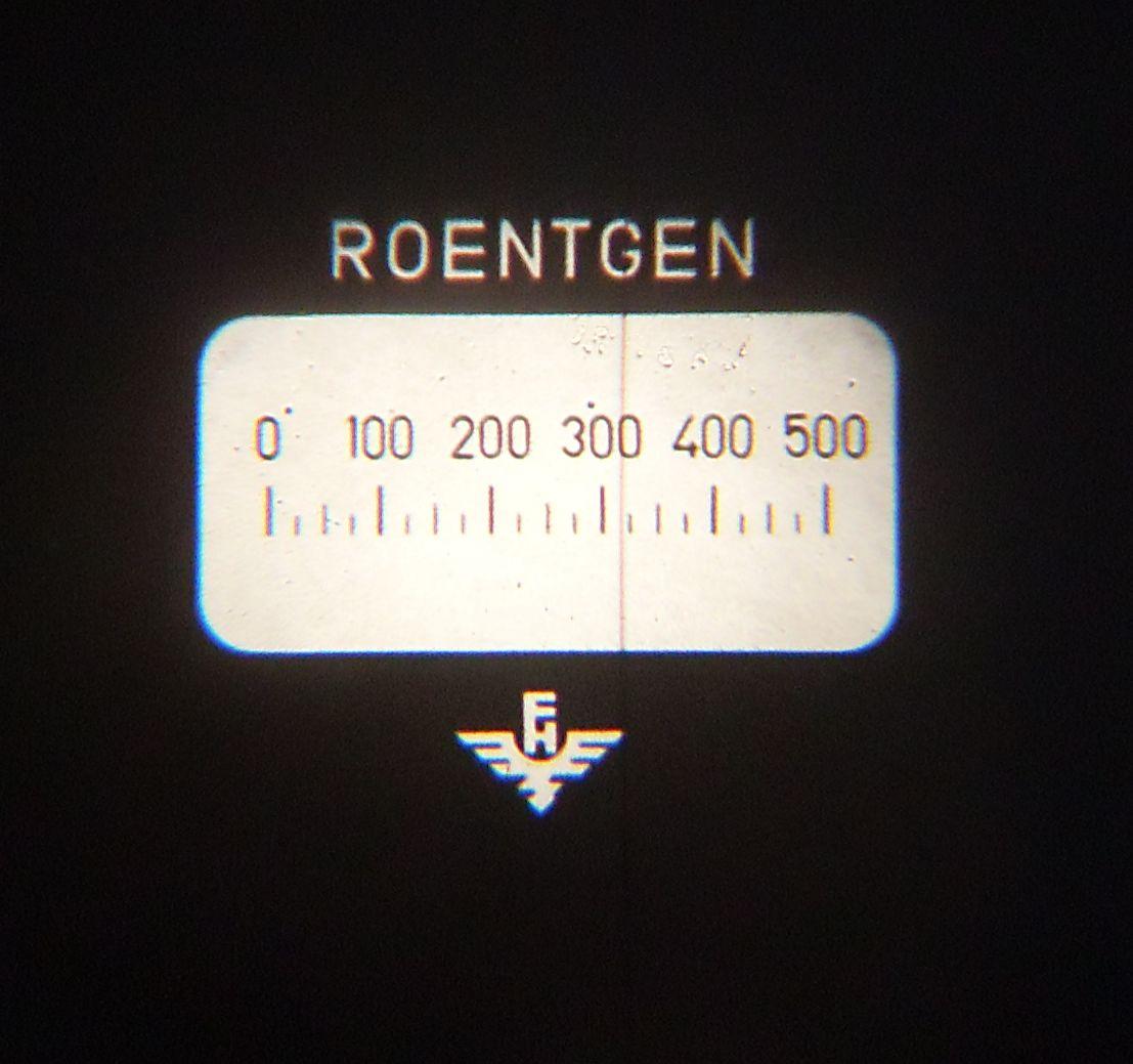 roentgen measurement