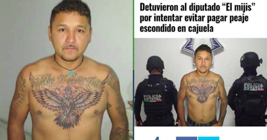 """El Mijis se tomó una foto sin camisa y que lo agarran para hacer """"noticia"""""""