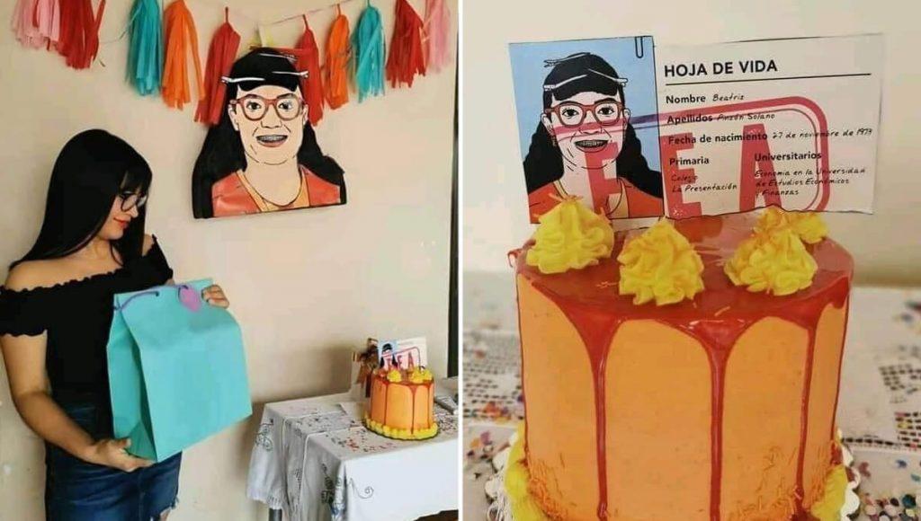 Detengan la junta directiva: alguien hizo una fiesta temática de Betty la Fea