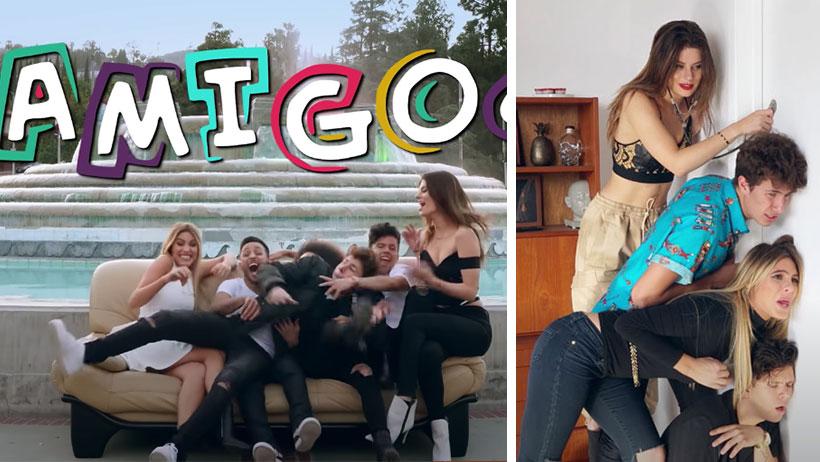 """Cómo olvidar """"Amigos"""", cuando Juanpa Zurita hizo su propia versión de """"Friends"""" estilo millennial"""