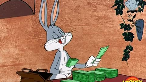 money bugs bunny