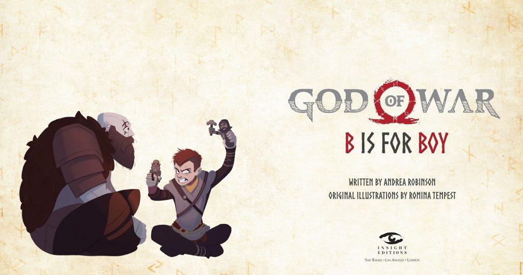 Las adorables aventuras de Kratos y Atreus: God of War será adaptado en cuento para niños