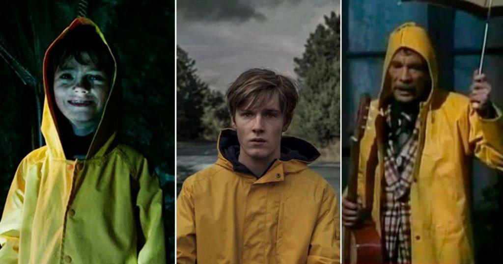 impermeable amarillo películas series listado