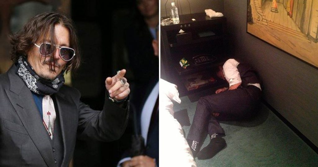 Johnny Depp admite que le dio marihuana a su hija de 13 años