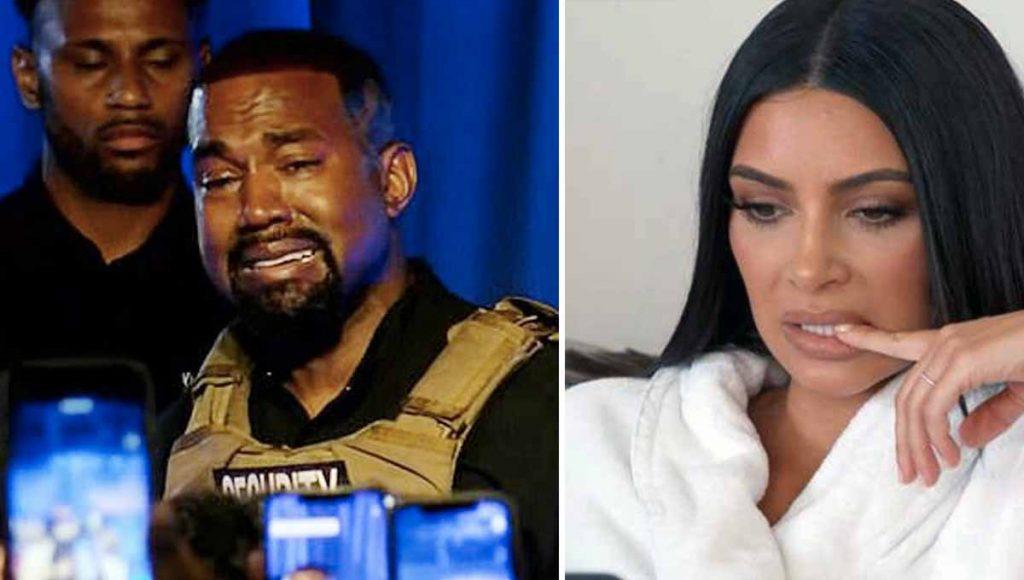Así explotó Kanye West en Twitter y hasta acusó a Kim de querer internarlo