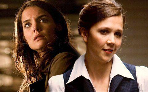 Kati Holmes Maggie Gyllenhaal Batman// Christian Bale Nota
