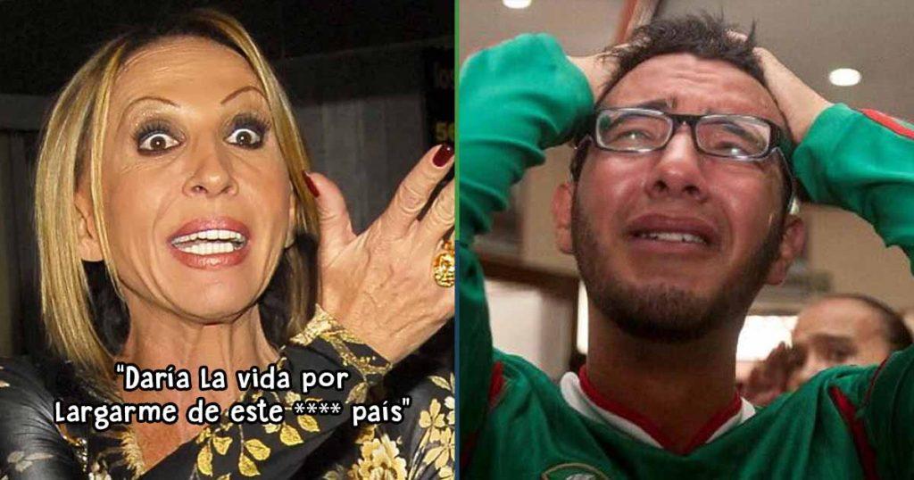 Laura Bozzo se lanza contra México