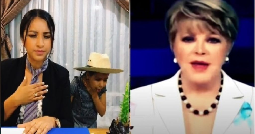 Mamá e hija recrean el legendario flemazo de Lolita Ayala y Phil Barrera en vivo (VIDEO)