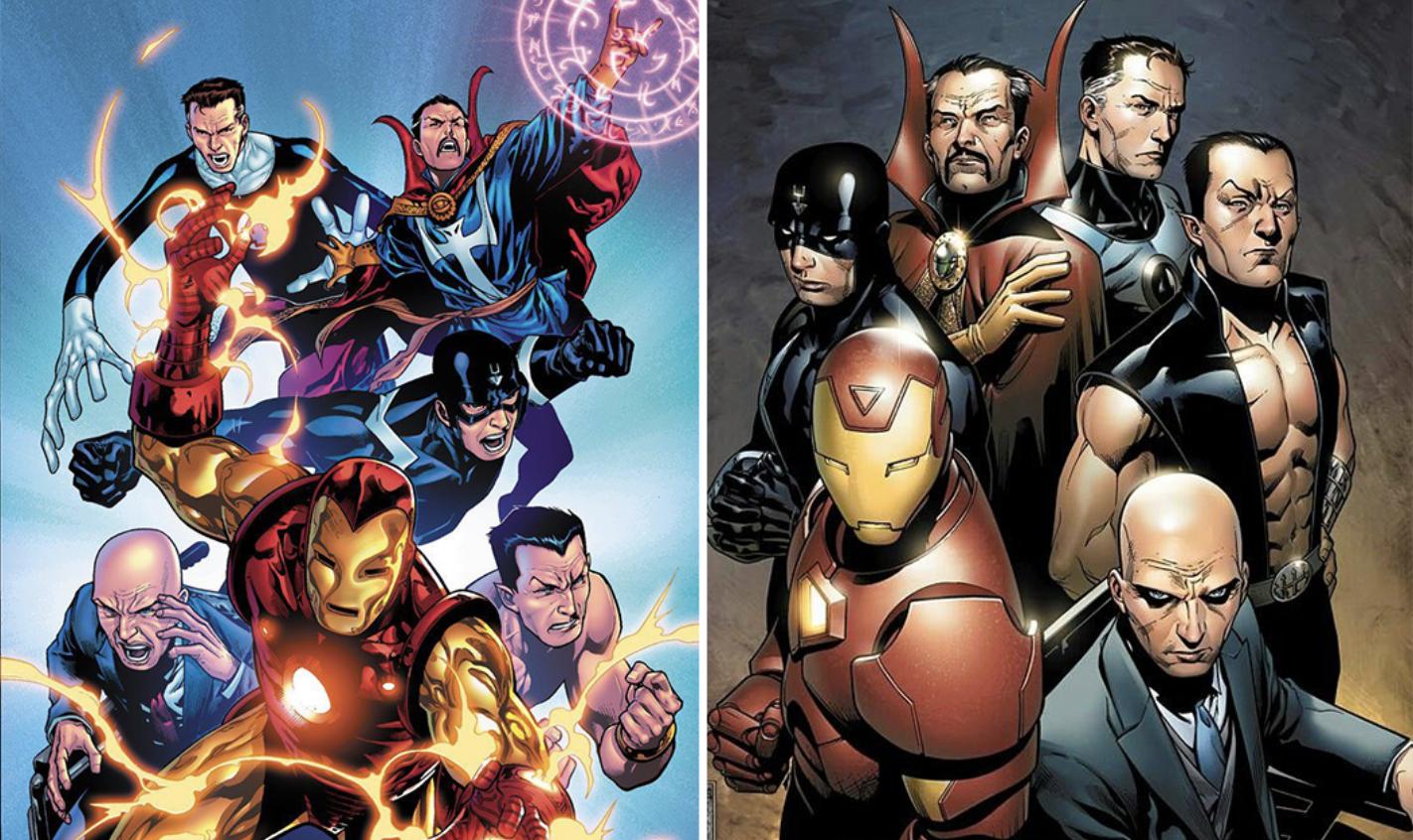 Marvel The Illuminati Avengers