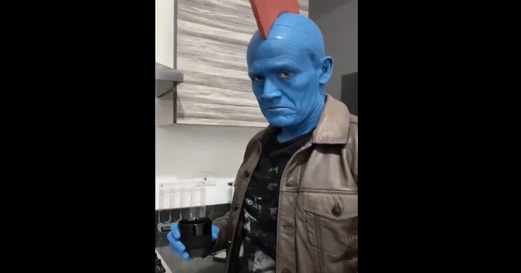 Matador Hernández ya tiene listo su disfraz de Yondu para Halloween y es perfecto