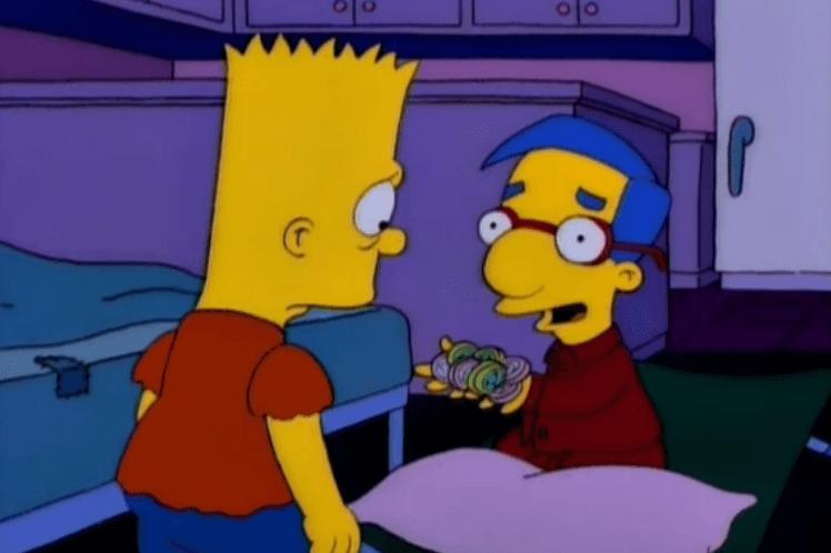 Revelan el verdadero significado del nombre de Milhouse en los Simpson