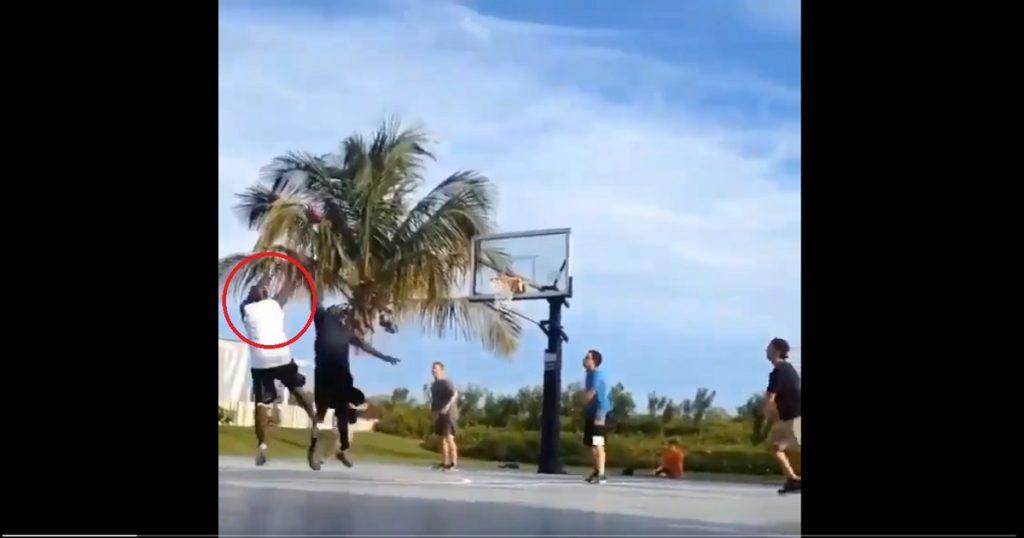 """Michael Jordan destroza a unos chavitos en un 3×3: """"búscame en YouTube, morro"""""""