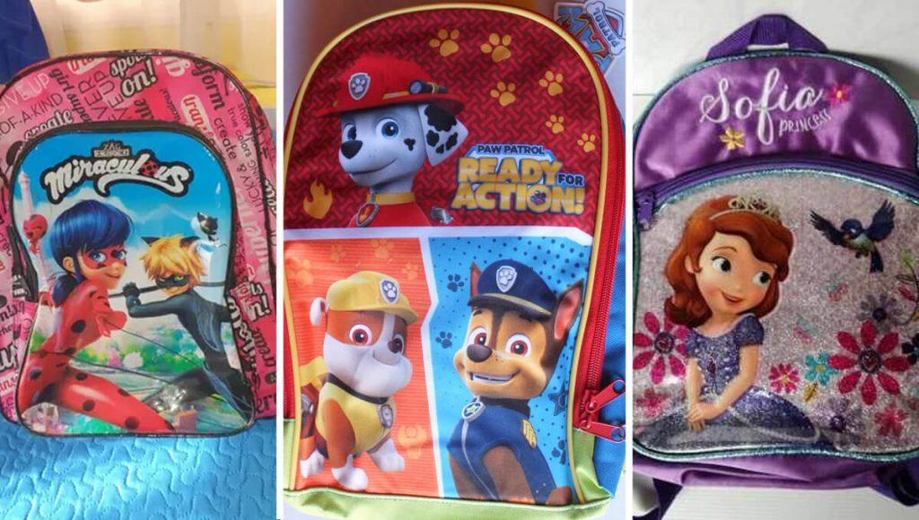 12 mochilas feas que usan los chamacos y los albañiles