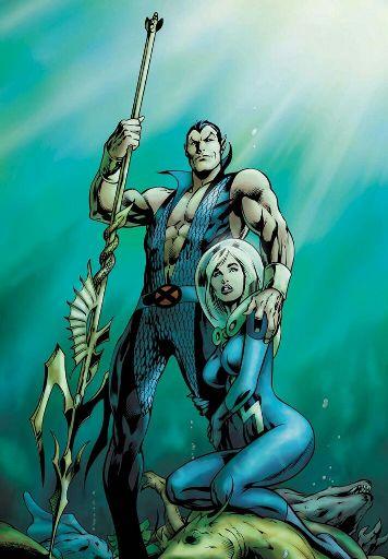 Namor Susan Storm Marvel
