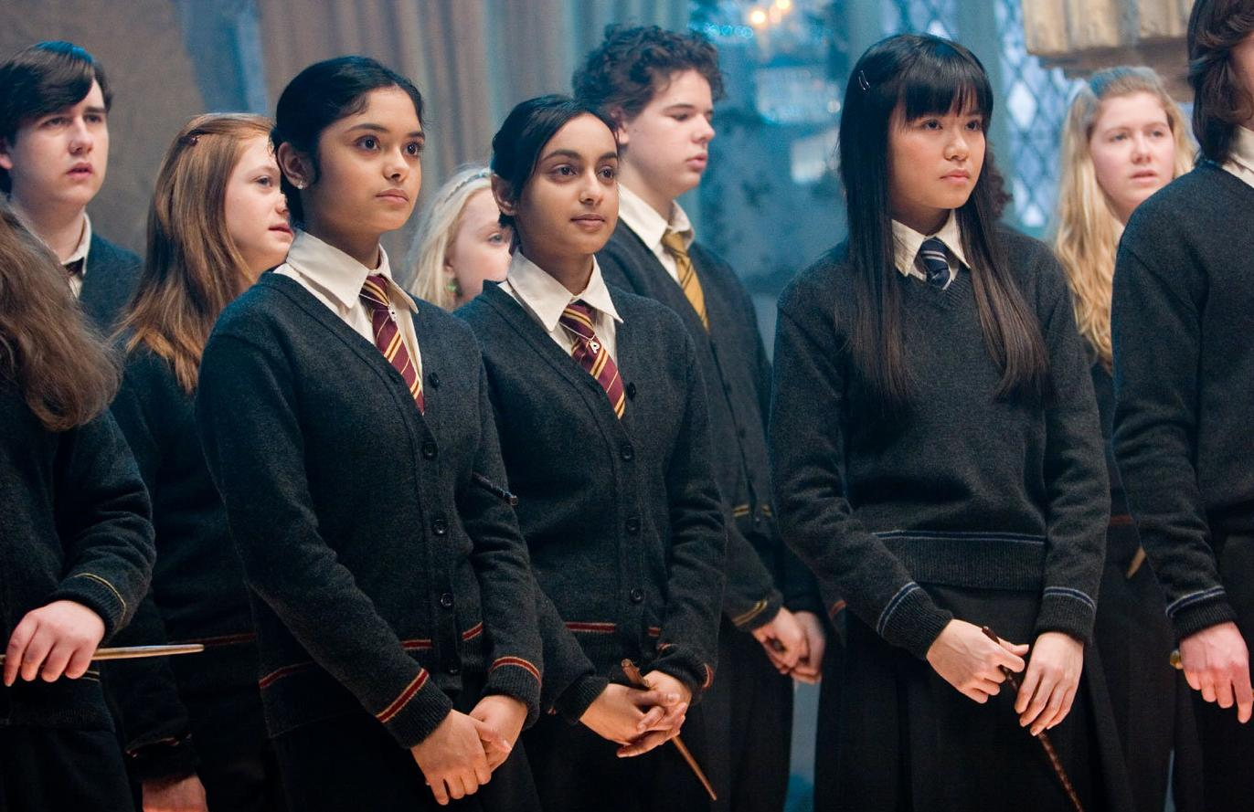 Parvati and Padma Patil Harry Potter and the Order of the Phoenix