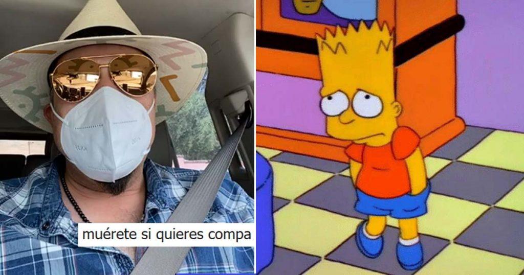 Los que no usan cubrebocas ya hicieron enfurecer a Pepe Aguilar y así reaccionó