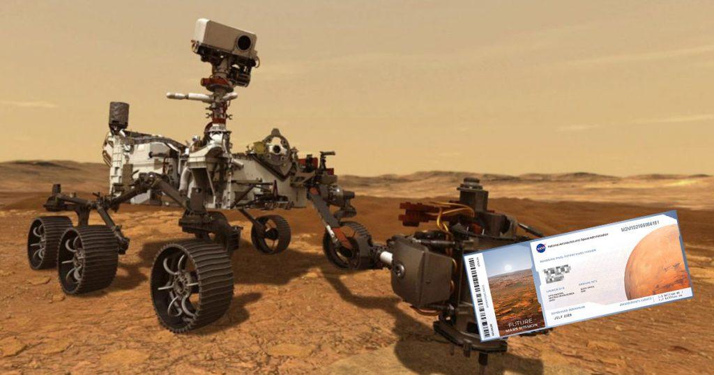 Gente que envió su nombre a Marte, ahora pagará predial en el planeta rojo