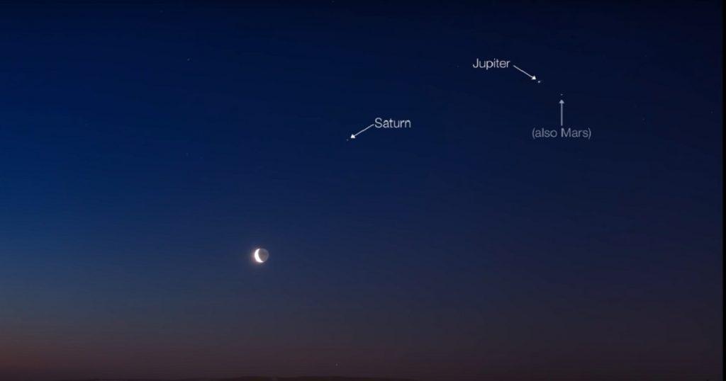 Qué nervios: 5 planetas serán visibles a simple vista desde la Tierra