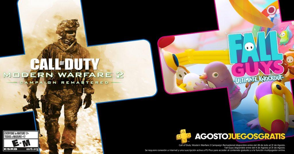 Estos son los juegos que llegan en agosto a PlayStation Plus