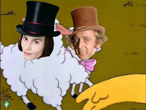 Quítate tú Willy Wonka Johnny Depp Gene Wilder Meme