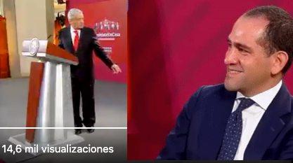 Momento exacto en el que el presidente regaña al secretario de Hacienda en plena Mañanera