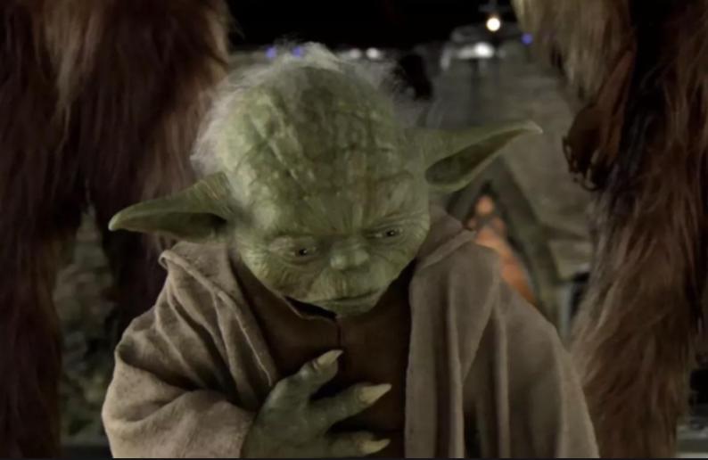 Yoda Star Wars Disturbance in the Force