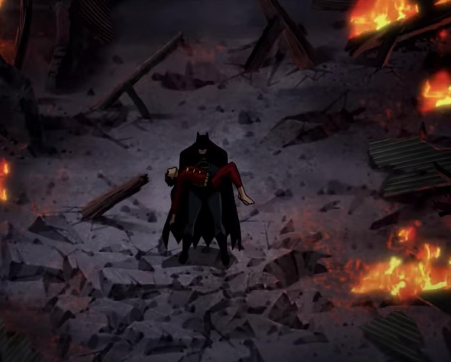 Batman Robin Death in the Family