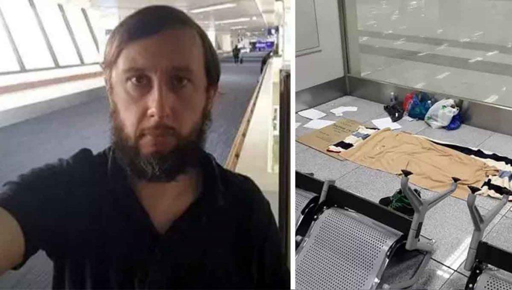 Se queda varado en aeropuerto por cuarentena