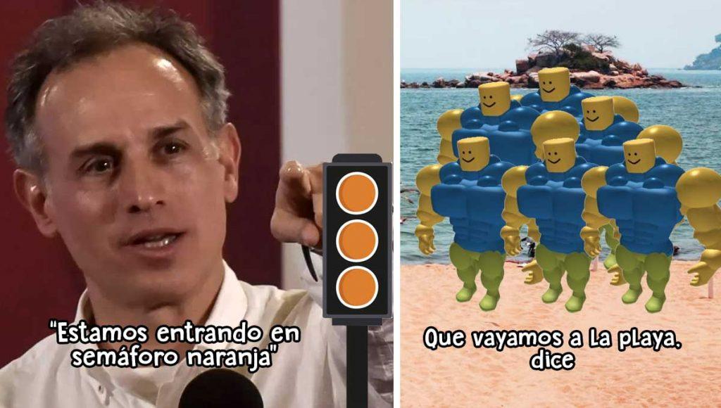 Semáforo Naranja López-Gatell