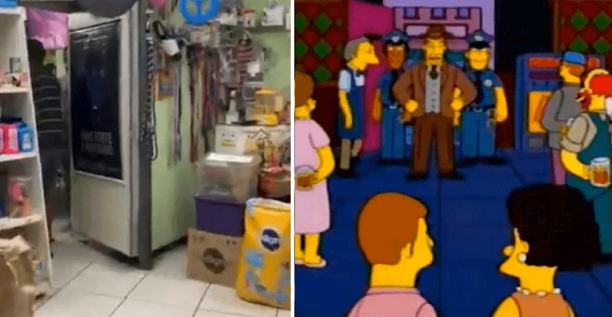 ¿Otra profecía de Los Simpson? Desmantelan bar clandestino que parecía tienda de mascotas