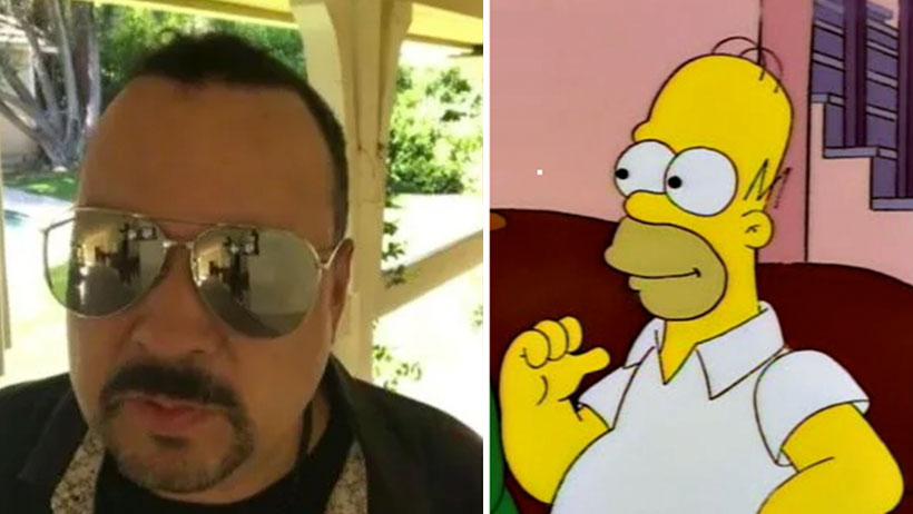 La familia de Pepe Aguilar se hizo un retrato como si fueran los Simpson y se ganaron el internet