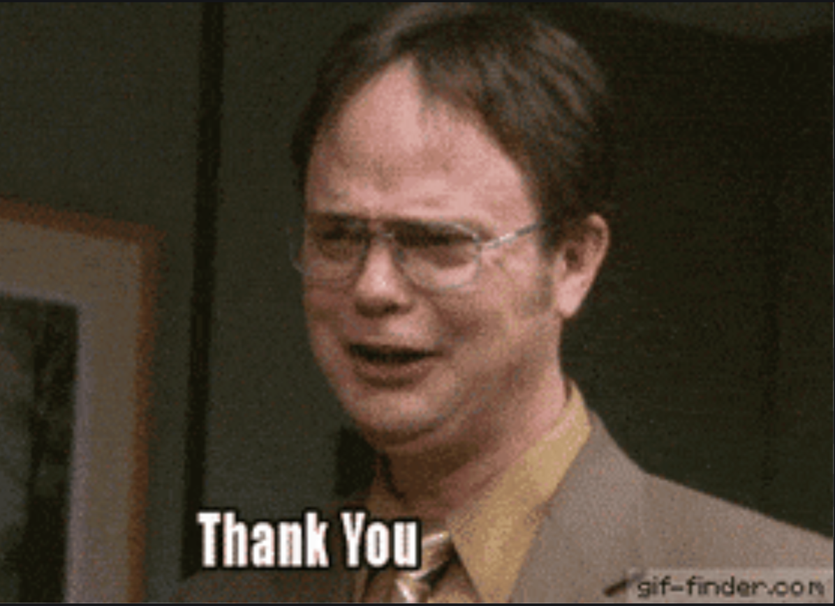 Thank You Dwight The Office