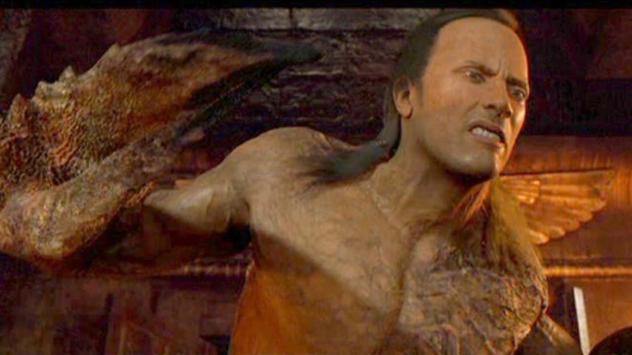 The Rock CGI Scorpion King