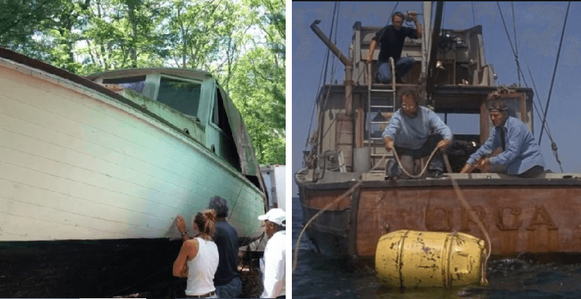 Crean réplica exacta del bote de la película Tiburon y te vas a querer subir