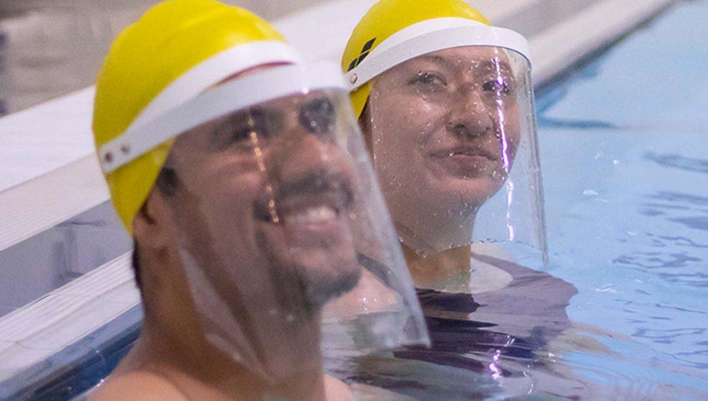 Tlaxcala careta escuela natación