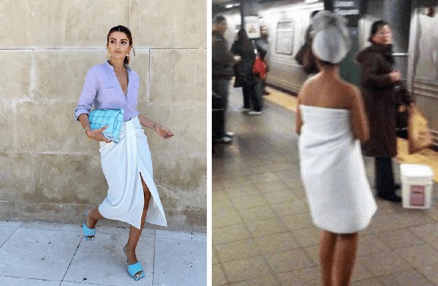 No se cansan: Ahora Zara saca una falda que parece una toalla y solo cuesta $700 pesitos
