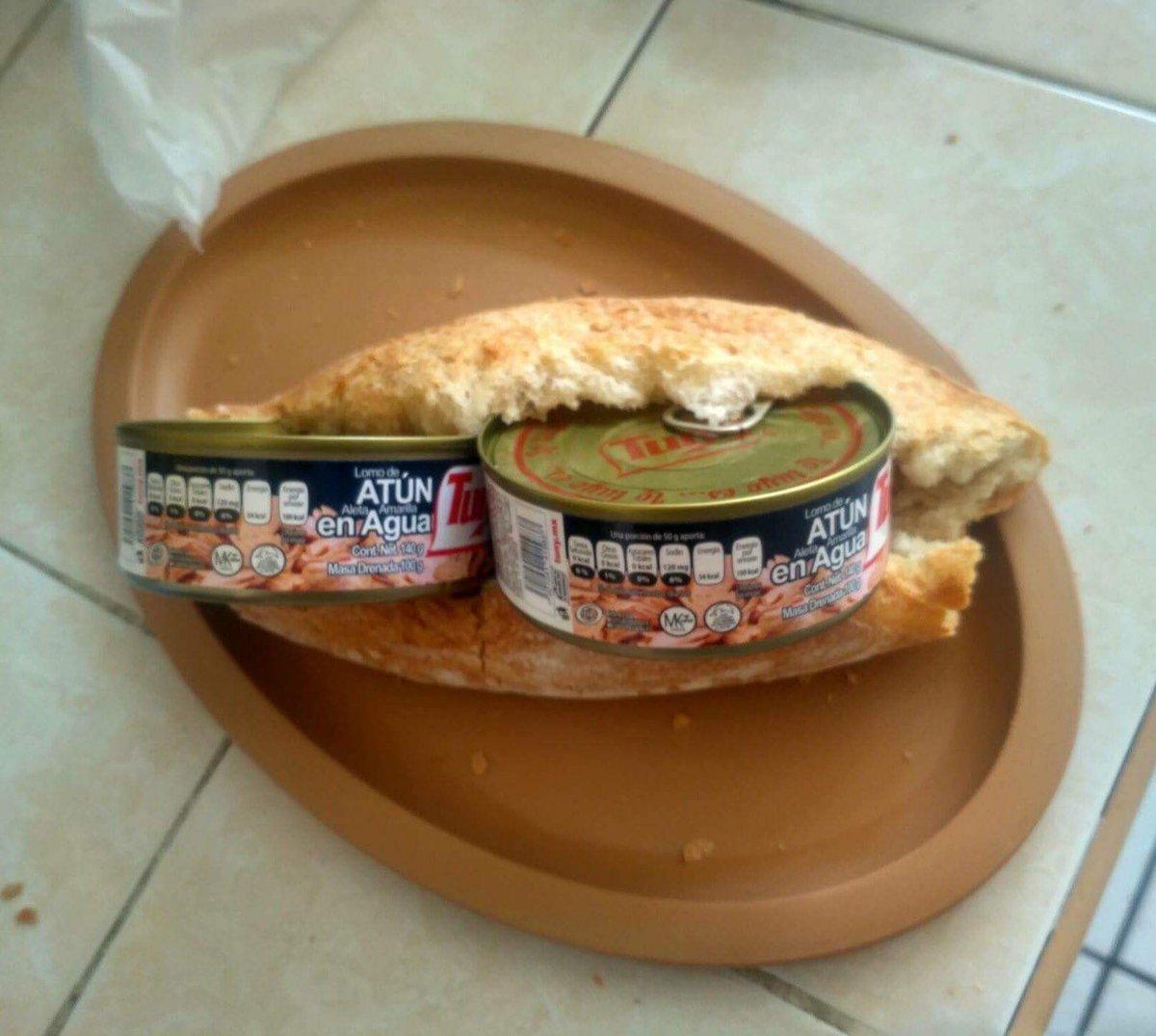 torta de atún chilangos