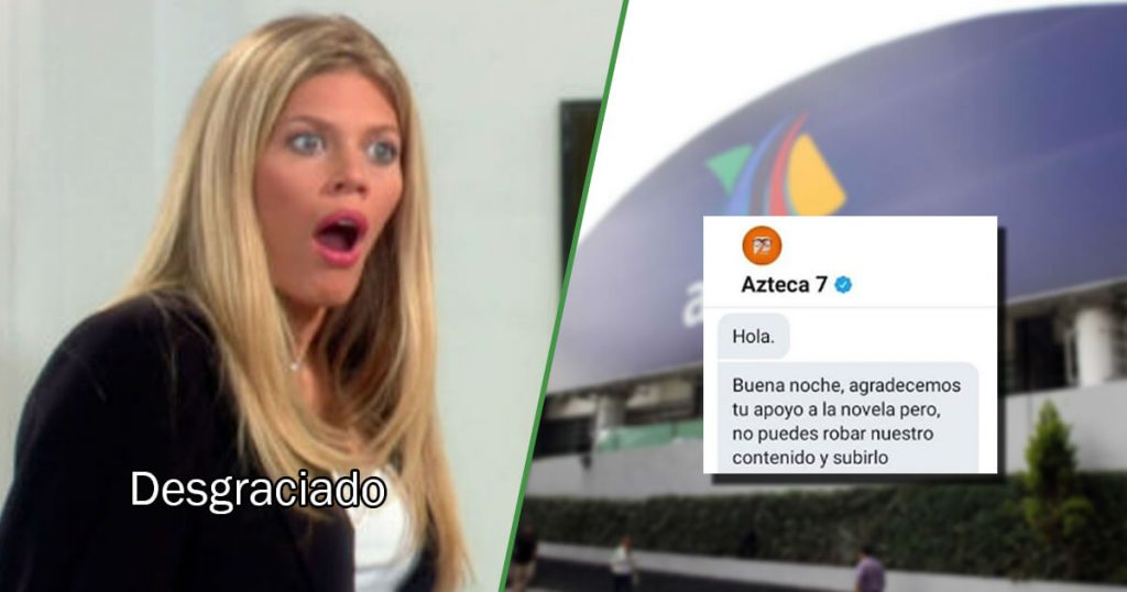 Hasta aquí llegaste: Azteca 7 quiere bajar esta página de fans de Betty La Fea